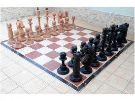 Шахматы большие деревянные №4