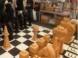 Шахматы напольные, деревянные Коллекция №2