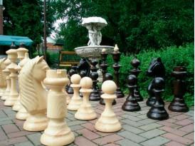 Шахматы напольные. Коллекция №1