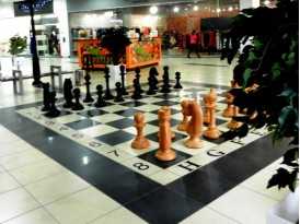Шахматы большие напольные №3