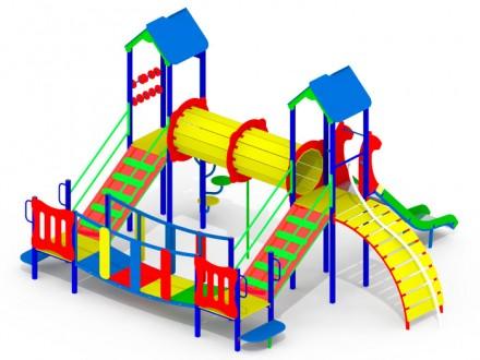 Детский игровой комплекс KI105