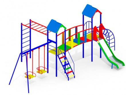 Детский игровой комплекс KI106