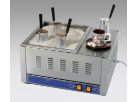 Кофеварка на песке