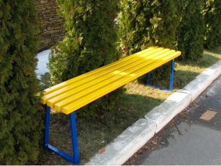 Скамейка парковая 1