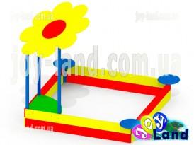 Детская песочница большая Цветочек KP47