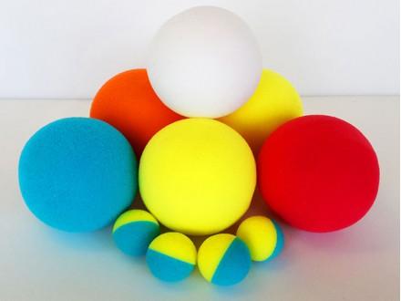 Поролоновые мячики для базуки