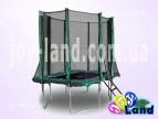 Прямоугольный батут с защитной сеткой 215 х 150 см.