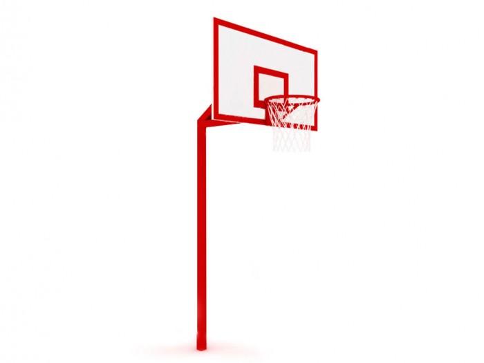 Стойка под баскетбольное кольцо своими руками 2