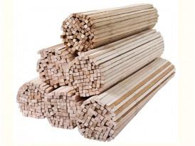 Палочки для сахарной ваты деревянные