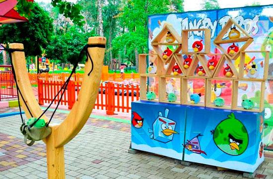Angry birds аренда в Киеве