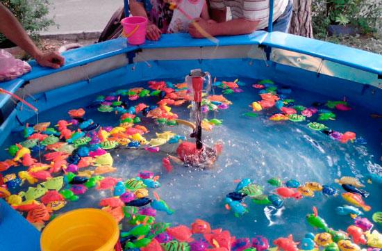 Детский призовой аттракцион - Рыбалочка